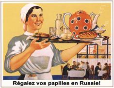Russieautrement restaurants et caf s sympas de saint - Cuisine traditionnelle russe ...